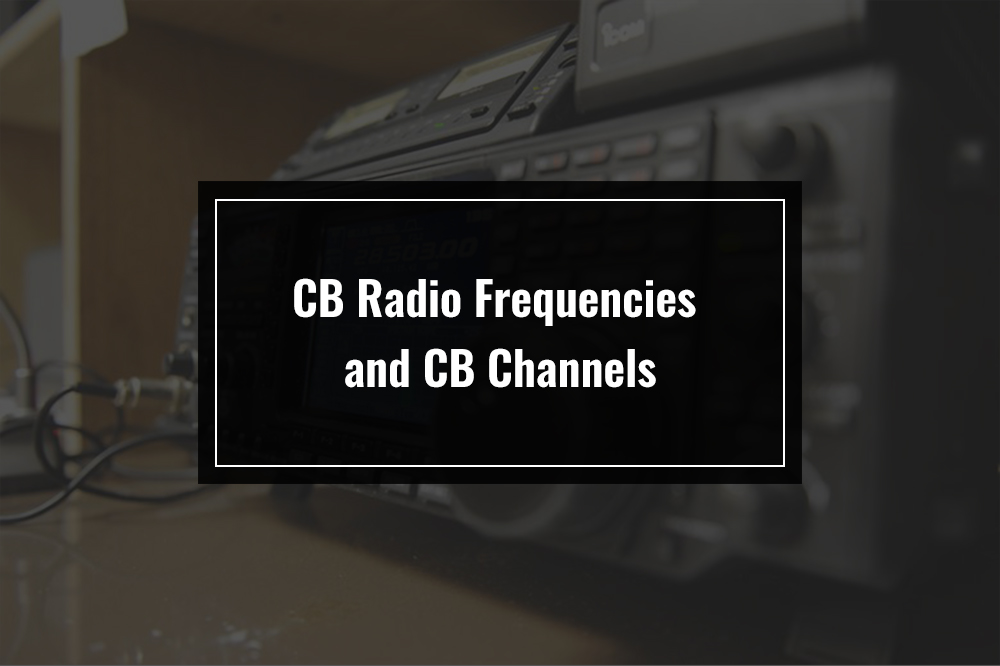 cb radio frequency chart channel