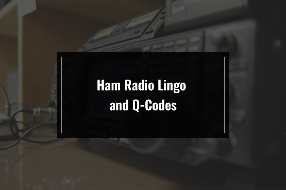 ham radio lingo and q-codes