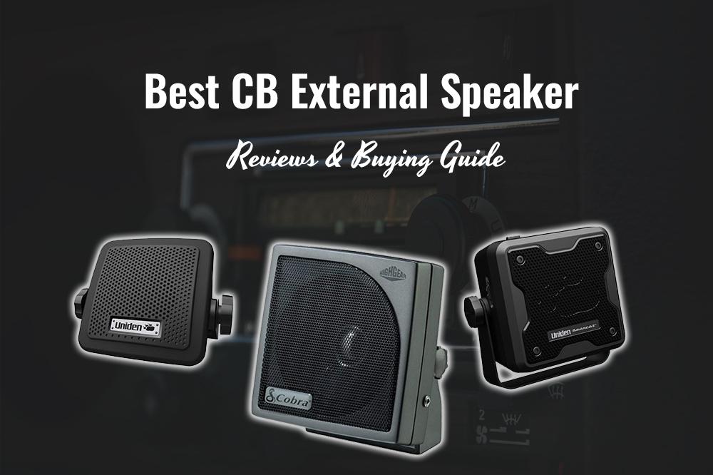 best cb external speakers