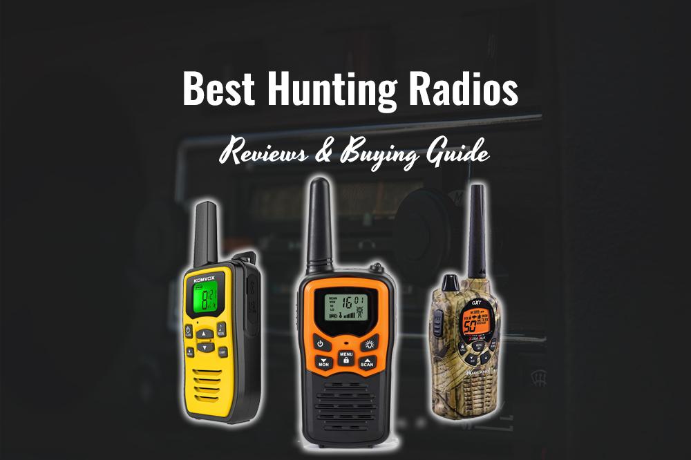 best hunting radios