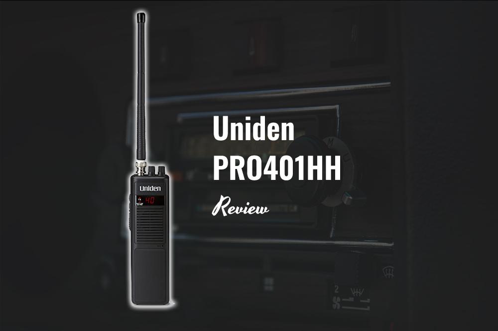 uniden pro401hh review